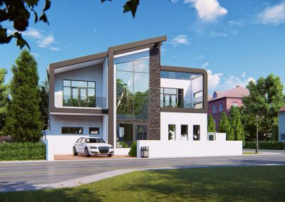 New Contemporary House Design at Graven Hill Bicester