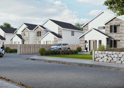 New housing development in Carmarthenshire